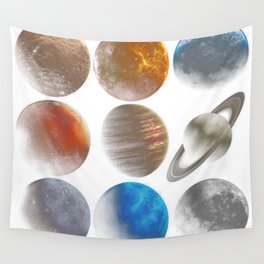 The Nine Planets Wall Tapestry