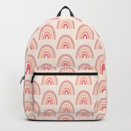 Rainbow Shape Abstraction Backpack
