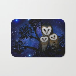 Owl Family Bath Mat