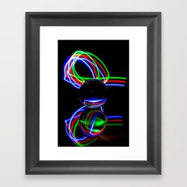 The Light Painter 21 Framed Art Print