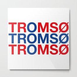 TROMSO Metal Print