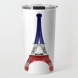 Eiffel Tower - Tour Eiffel - Blue White & Red Travel Mug
