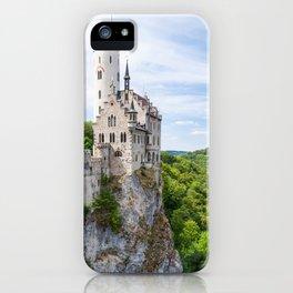Lichtenstein castle iPhone Case