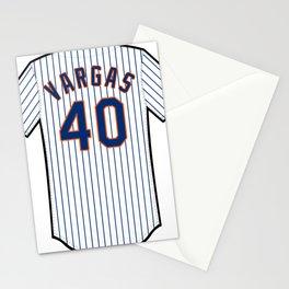Jason Vargas Jersey Stationery Cards