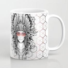 Geometric Indian Coffee Mug
