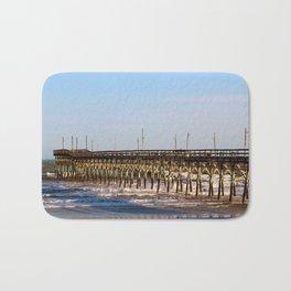 Seaside Fishing Pier Bath Mat