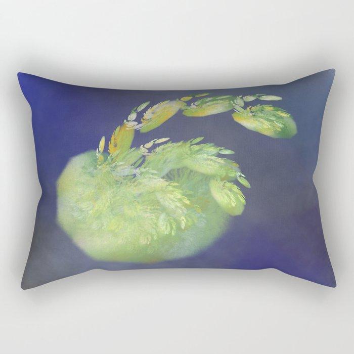 one green Apple   (A7 B0232) Rectangular Pillow