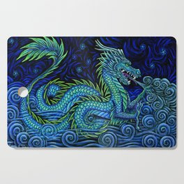 Chinese Azure Dragon Cutting Board