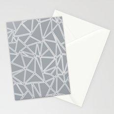 Ab Blocks Grey #2 Stationery Cards