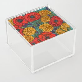 The Morning Florals Acrylic Box