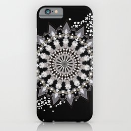 Wheel of Blossoms iPhone Case