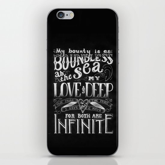 For You, My Love iPhone & iPod Skin