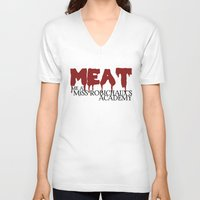 coven V-neck T-shirts featuring American Horror Story Coven by NameGame