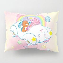 vintage Care Bears Cloud Car Pillow Sham