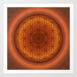 Mandala Flower of Life 1 Art Print