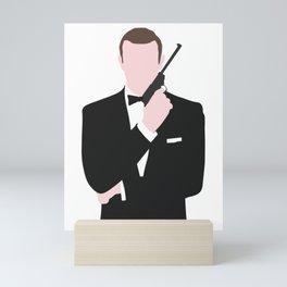 Connery Bond Mini Art Print