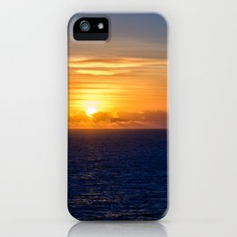 Sunset over the Timor Sea iPhone Case