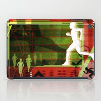 running iPad Cases featuring Running by Robin Curtiss
