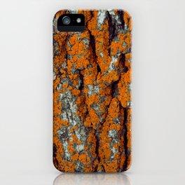 Orange Moss iPhone Case