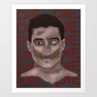 O'Death, O'Death Art Print