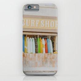 lets surf xiv / venice beach, california iPhone Case