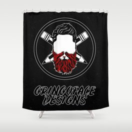 Gringoface Designs 1 Shower Curtain