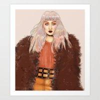 So Chic Art Print