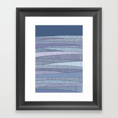 Winter Fields Framed Art Print