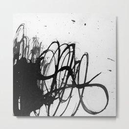 line stain dynamics Metal Print
