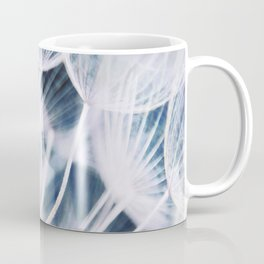 Elegant Dandelion Seeds Macro Abstract Coffee Mug