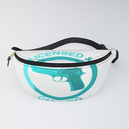 Licensed and carrying my pistol since 1978 Fanny Pack