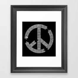 Puzzle Peace Framed Art Print