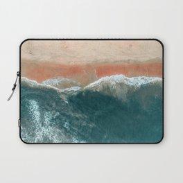 Tropical Drone Beach Photography Laptop Sleeve