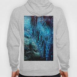 alien landscape indigo blue green forest surreallist Hoody