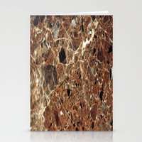 30 rock Stationery Cards featuring Marble Texture 30 by Robin Curtiss