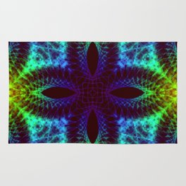 Mandalas, Psychedelic and Visual effects Rug
