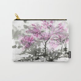 Sumie No.2 Plum Blossoms Carry-All Pouch