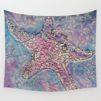 starfish Wall Tapestries featuring Starfish by Christine's heART