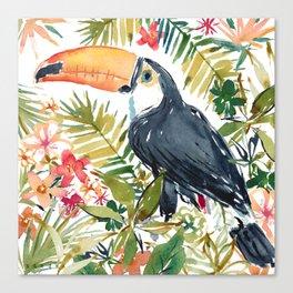 MANUELA THE TOCO TOUCAN Canvas Print