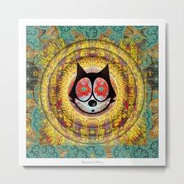 Felix The Cat Trip Metal Print