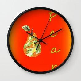 Pear Decor Wall Clock
