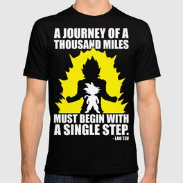 A Journey Of A Thousand Miles (Goku) T-shirt