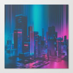 MAINFRAME-1982 (everyday 12.21.15) Canvas Print