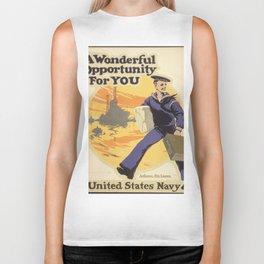 Vintage poster - A Wonderful Opportunity For You Biker Tank