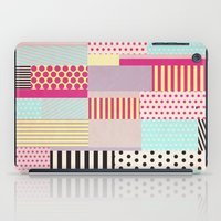 tape iPad Cases featuring Decorative Tape by Louise Machado