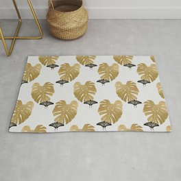 Botanical, Butterfly & Monstera Rug