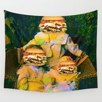 mac Wall Tapestries featuring Mac Attack by Tyler Spangler