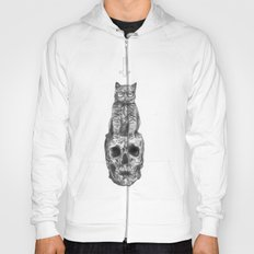 The Cat, The Skull, The Cross Hoody