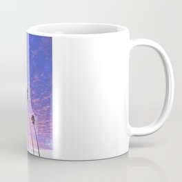"Sunsets ""Blue Butterfly Palms"" Coffee Mug"
