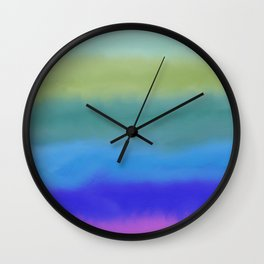 The Sea is Here Wall Clock